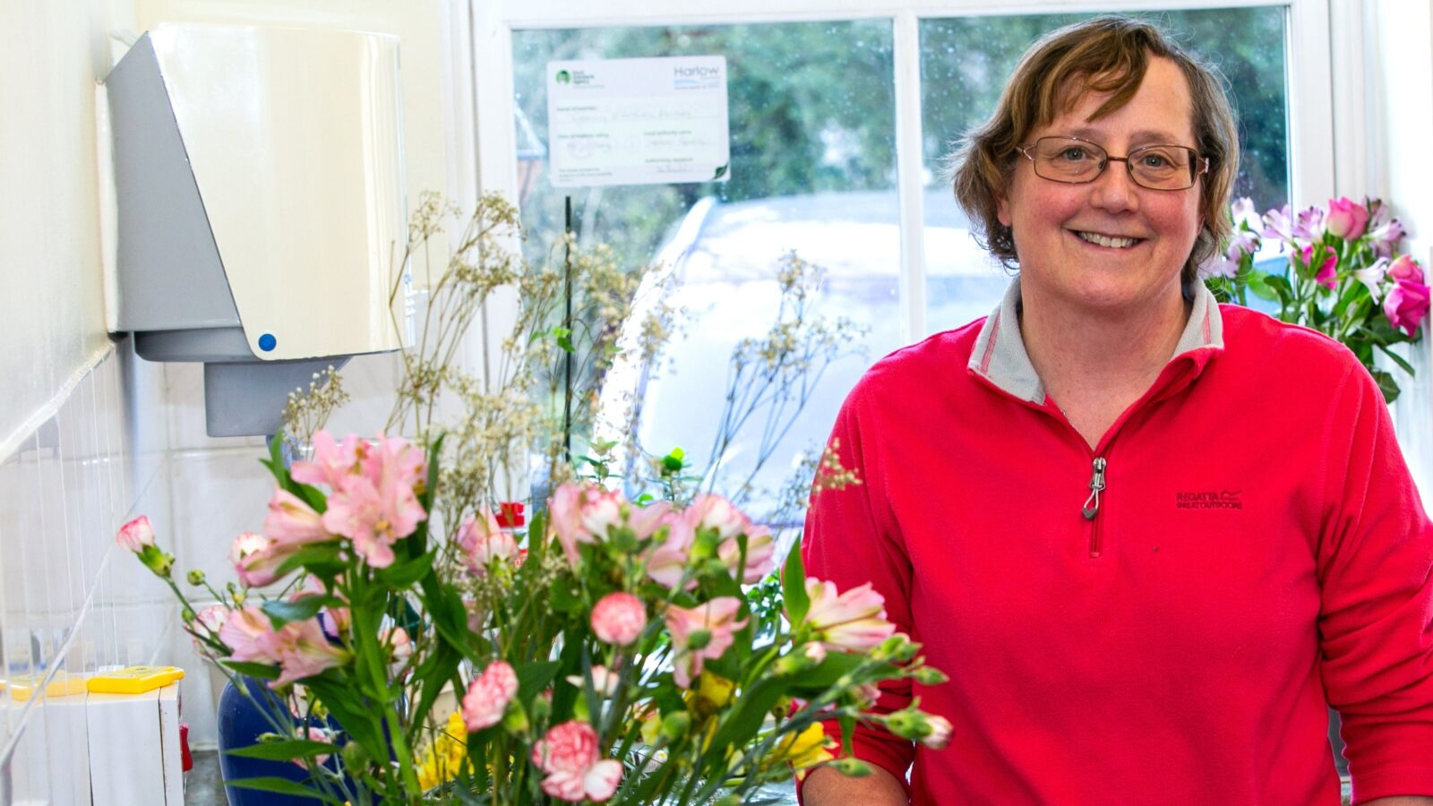 From flower arranging to cookery – it all adds up! Alison's volunteering story
