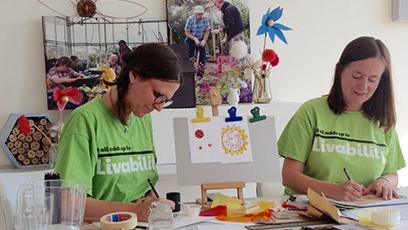 Flourish at Home: Bringing people together with online art workshop