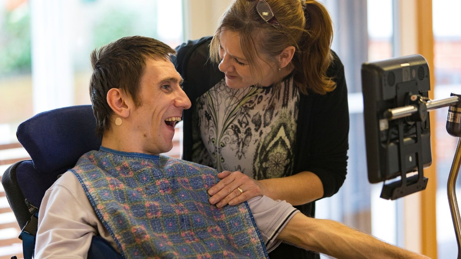Livability Kenway Court, person we support & enabling support worker