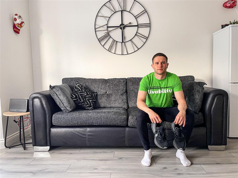 Support Edgar on his 100k marathon effort