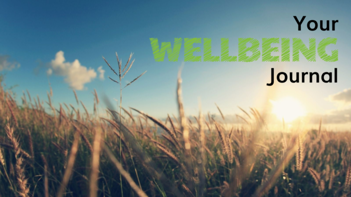 Sign up for Your Wellbeing Journal